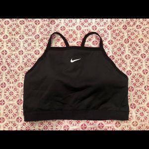 Nike black SPORTSBRA, Large